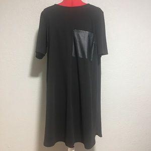 Soprano black casual dress size 1X